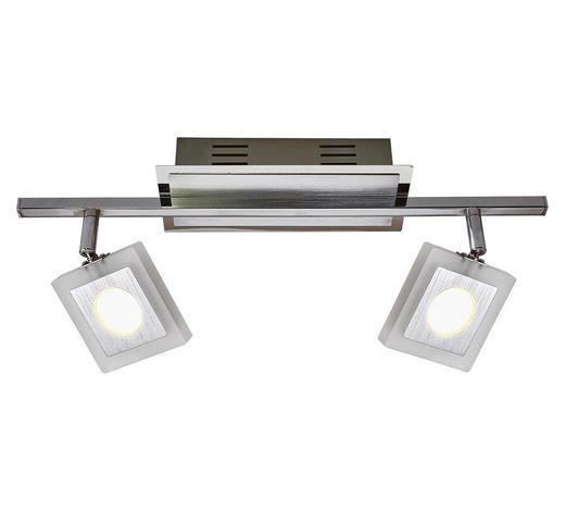 LED-STRAHLER - Chromfarben, Design, Kunststoff/Metall (44,5/8/20cm) - Novel