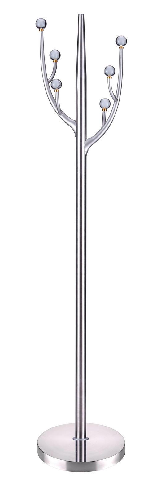 KLEIDERSTÄNDER Edelstahlfarben - Edelstahlfarben, Design, Kunststoff/Metall (39/185/39cm) - Xora