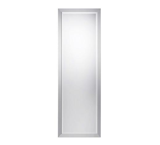 SPIEGEL Silberfarben - Silberfarben, Design, Glas/Holzwerkstoff (50/150cm) - Boxxx