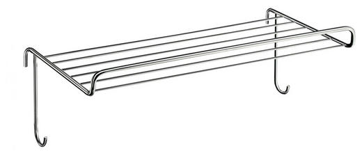 ABLAGE 42,7/17,4/22,3 cm - Chromfarben, Basics, Metall (42,7/17,4/22,3cm)