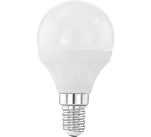 LED-Leuchtmittel E14 - Silberfarben/Weiß, Basics (7,9cm) - Homeware