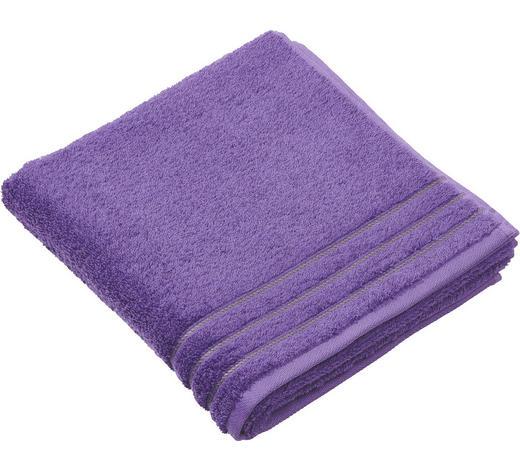 DUSCHTUCH 67/140 cm - Violett, Basics, Textil (67/140cm) - Vossen