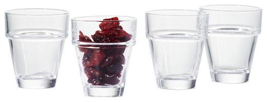 GLÄSERSET 4-teilig - Basics, Glas (7cm) - Nachtmann