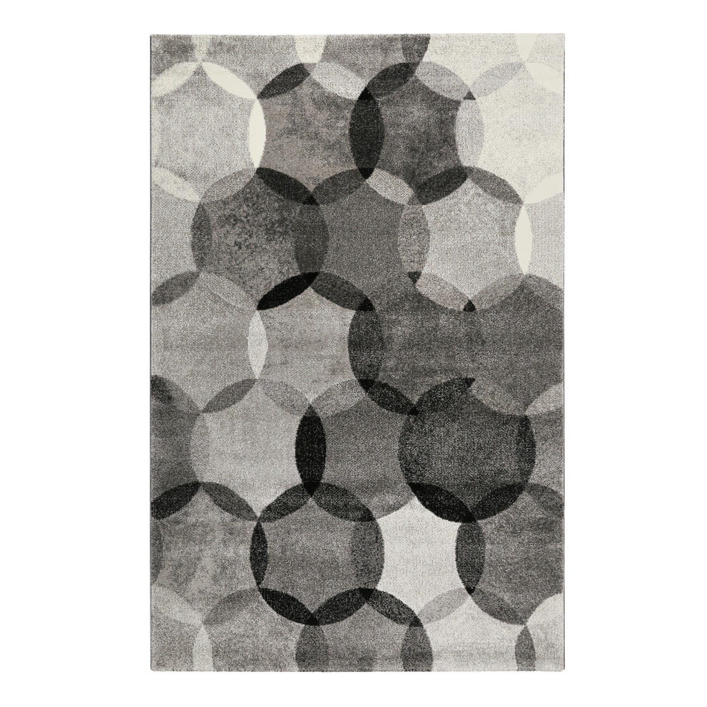 Esprit Webteppich 80/150 cm grau