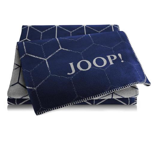 WOHNDECKE 150/200 cm Graphitfarben  - Graphitfarben, LIFESTYLE, Textil (150/200cm) - Joop!