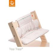 HOCHSTUHLEINLAGE Tripp Trapp Cushion - Rosa/Weiß, Basics, Textil (28/21/7cm) - Stokke