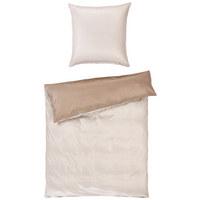 BETTWÄSCHE Makosatin Beige, Grau 135/200 cm - Beige/Grau, Basics, Textil (135/200cm) - Joop!