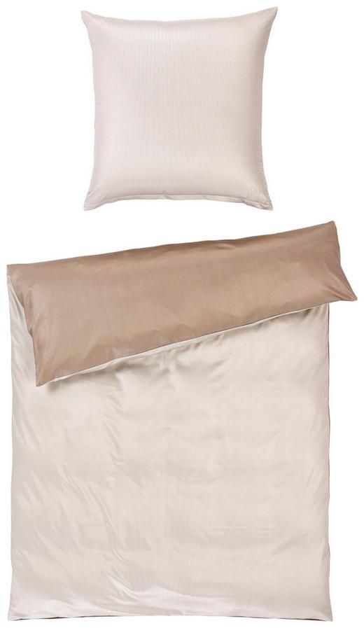 BETTWÄSCHE Makosatin Grau, Beige - Beige/Grau, Basics, Textil (135/200cm) - Joop!