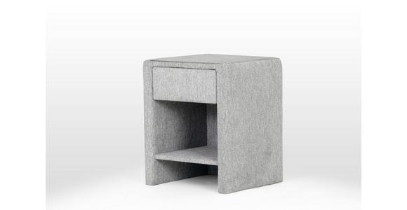 Nachtkästchen Moon - Grau, MODERN, Holz/Kunststoff (48/59/44cm) - Luca Bessoni