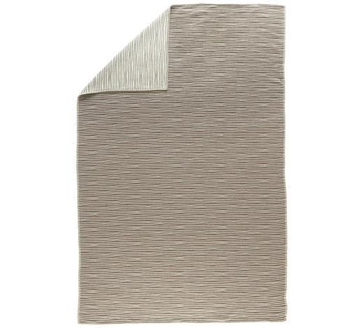 KUSCHELDECKE 145/220 cm - Beige, KONVENTIONELL, Textil (145/220cm) - David Fussenegger