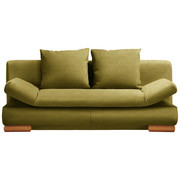 SCHLAFSOFA in Textil Grün - Grün, Design, Holz/Textil (200/87/93cm) - Venda