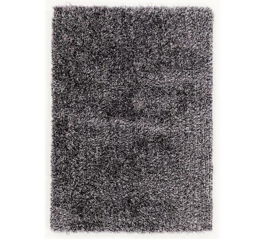 WEBTEPPICH  65/130 cm  Schwarz, Weiß - Schwarz/Weiß, Basics, Textil (65/130cm) - Novel