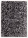 WEBTEPPICH  200/200 cm  Schwarz, Weiß - Schwarz/Weiß, Textil (200/200cm) - Novel