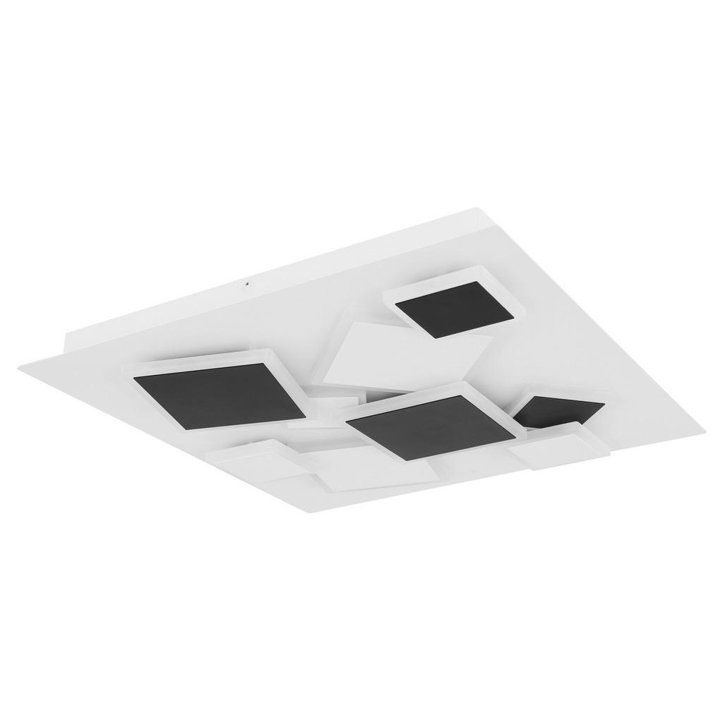 Novel STROPNÍ LED SVÍTIDLO, 50/6,5/50 cm - opál, černá, bílá