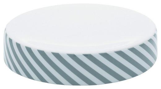 SEIFENSCHALE - Weiß/Grau, Basics, Keramik - Celina