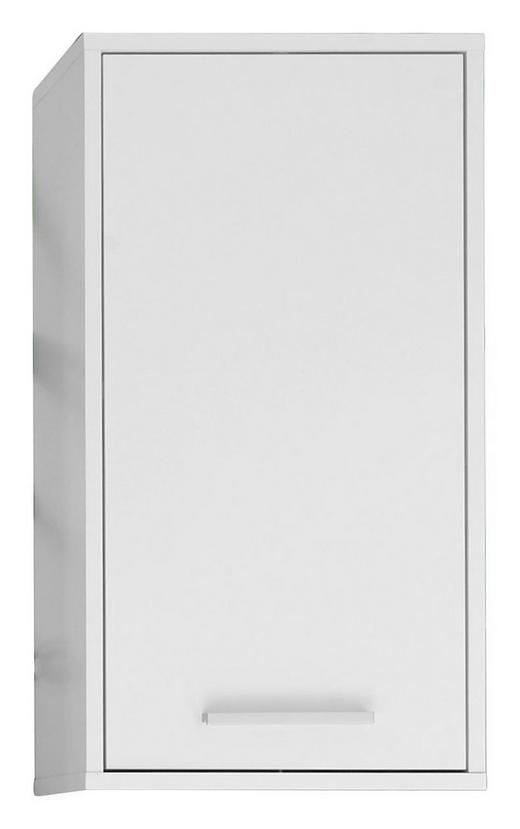 Hängeschrank in 38 72 23 cm alufarben weiß design holzwerkstoff