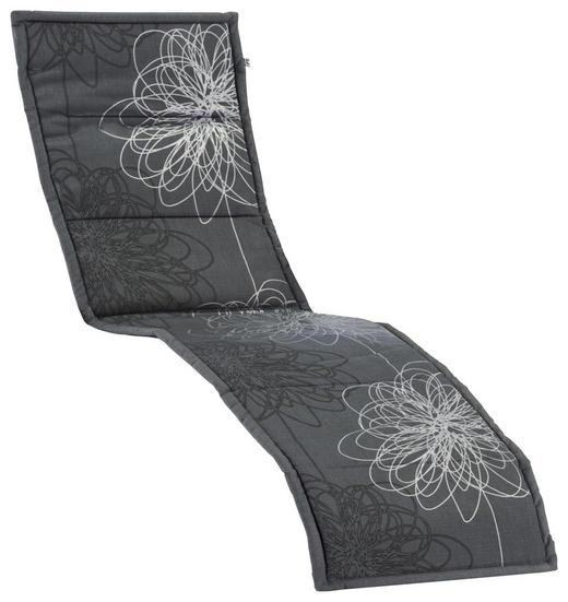 LIEGENAUFLAGE Blume - Weiß/Grau, KONVENTIONELL, Textil (55/205/3cm) - KETTLER HKS