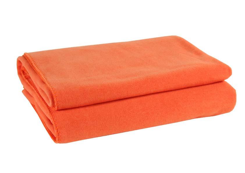 WOHNDECKE 160/200 cm Orange - Orange, Textil (160/200cm) - ZOEPPRITZ