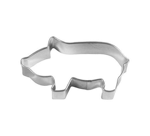 KEKSAUSSTECHFORM - Edelstahlfarben, Basics, Metall (7,5/2,2/4cm) - Birkmann