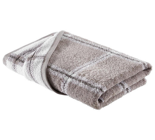 DUSCHTUCH 70/140 cm - Taupe, KONVENTIONELL, Textil (70/140cm) - Esposa