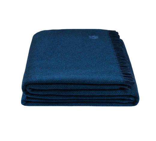 WOHNDECKE 130/190 cm Blau  - Blau, Basics, Textil (130/190cm) - Zoeppritz