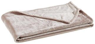 WOHNDECKE 140/190 cm Taupe, Beige  - Taupe/Beige, KONVENTIONELL, Textil (140/190cm) - Novel