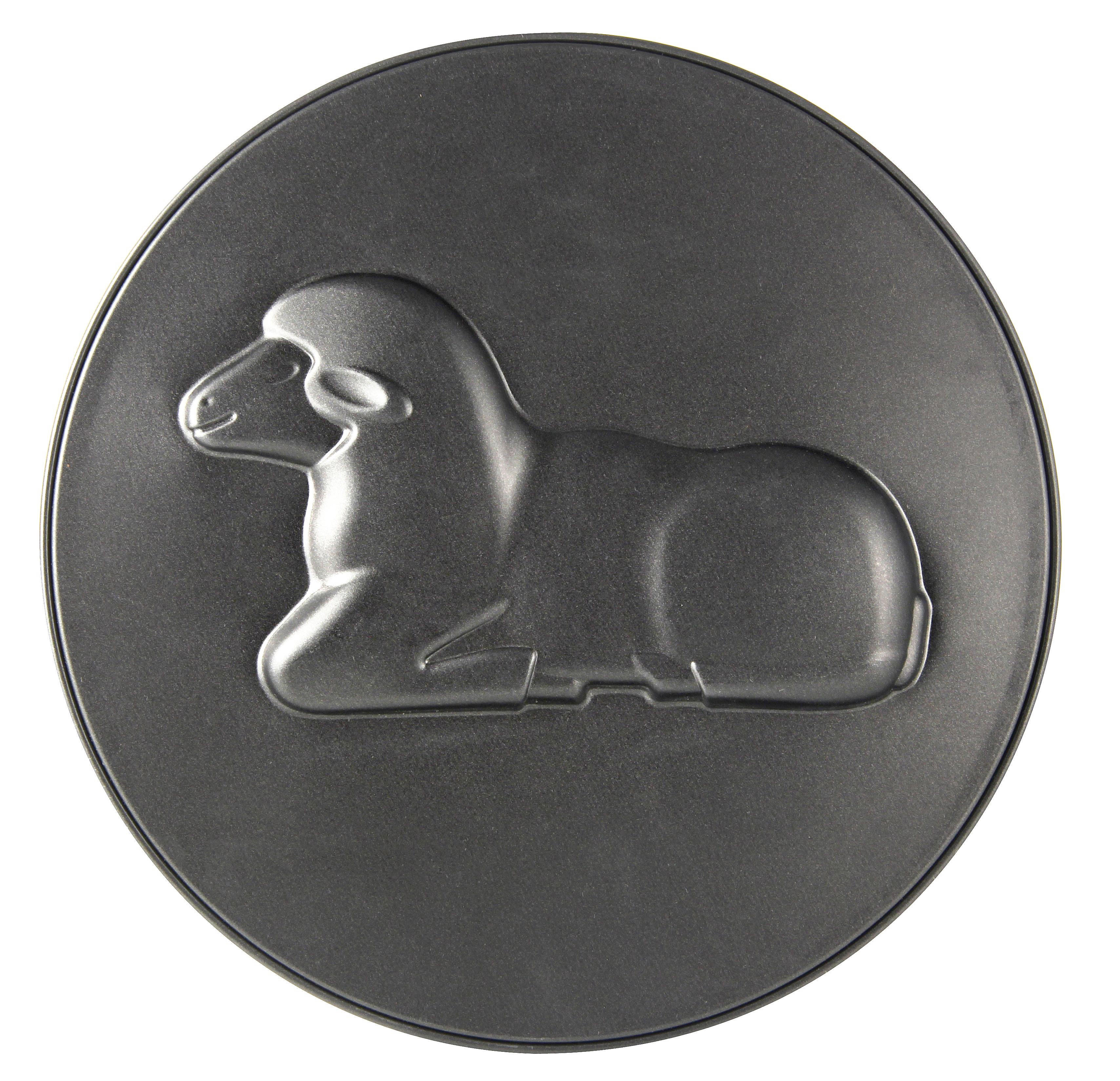 BACKFORMENSET - Schwarz, Metall (26/6,5cm)