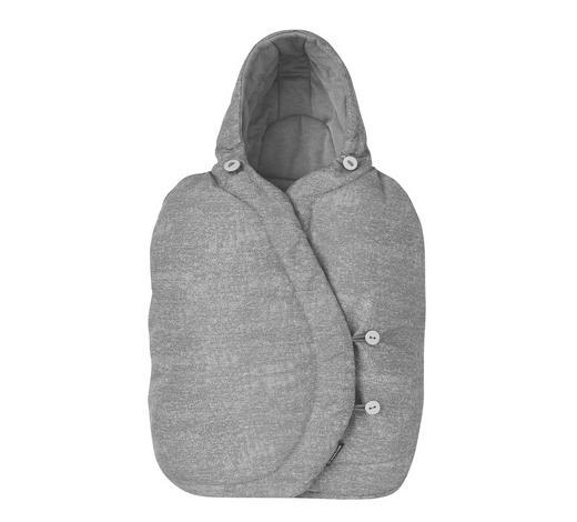 BABYSCHALEN-FUßSACK - Grau, Basics, Textil (43/76cm) - Maxi-Cosi