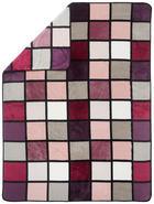 WOHNDECKE 150/200 cm - Beere, KONVENTIONELL, Textil (150/200cm) - Novel
