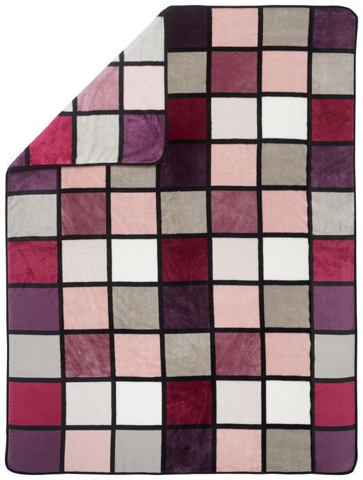 WOHNDECKE 150/200 cm Beere - Beere, Textil (150/200cm) - Novel