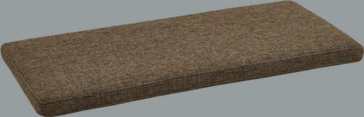SITZKISSEN Beige, Braun - Beige/Braun, Basics, Textil (80/4/38cm)
