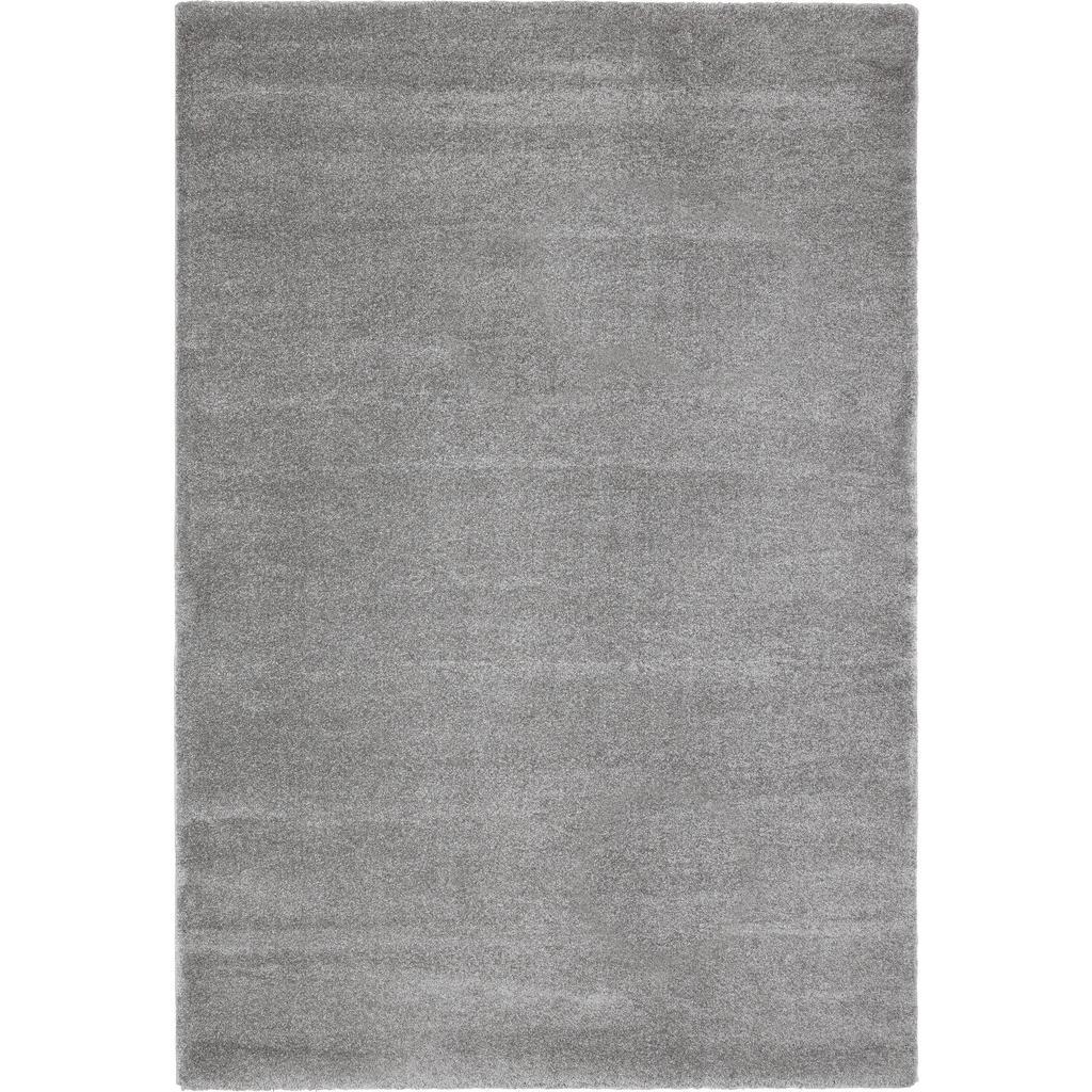 Tkaný Koberec 160/230 Cm Barvy Stříbra Novel - barvy stříbra