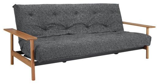 SCHLAFSOFA in Holz, Textil Grau - Grau, Design, Holz/Textil (230/92/97cm) - Innovation