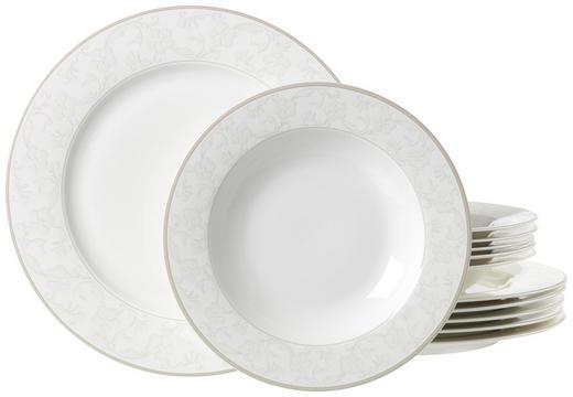 Porzellan  TAFELSERVICE  12-teilig - Beige, Basics, Keramik - Ritzenhoff Breker