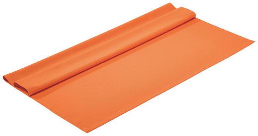 TISCHDECKE Textil Orange 100/100 cm - Orange, Basics, Textil (100/100cm)
