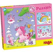 PUZZLE - Multicolor/Rosa, Basics, Karton (20/25cm) - Haba