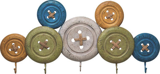 WANDGARDEROBE Multicolor - Multicolor, Design, Metall (100/44/6cm) - Kare-Design
