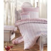 BETTWÄSCHE Flanell Rosa, Weiß 135/200 cm  - Rosa/Weiß, Textil (135/200cm) - Janine