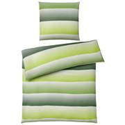 BETTWÄSCHE Mikrofaser Grün 135/200 cm  - Grün, Design, Textil (135/200cm) - Boxxx