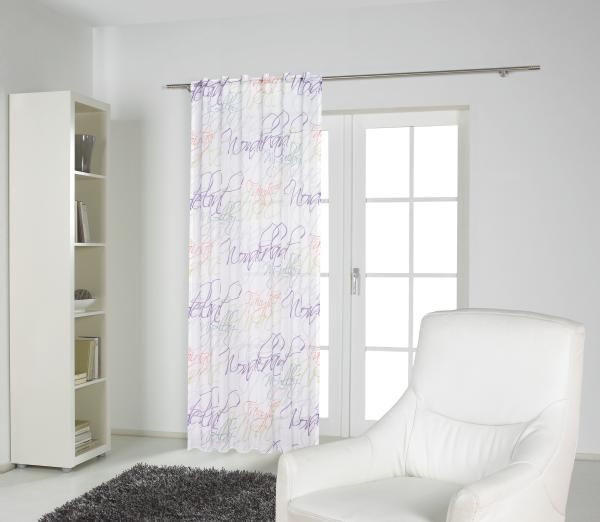 FERTIGVORHANG  transparent  140/255 cm - Multicolor, Textil (140/255cm) - ESPOSA