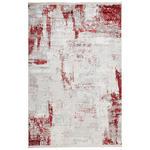 VINTAGE-TEPPICH  80/150 cm  Rot, Hellgrau   - Rot/Hellgrau, Design, Textil (80/150cm) - Dieter Knoll