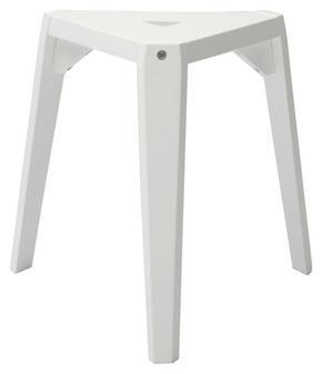 PALL - vit, Design, trä/träbaserade material (53/45/44cm)