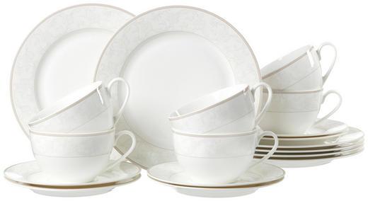 Porzellan  KAFFEESERVICE 18-teilig - Beige, Basics, Keramik - Ritzenhoff Breker