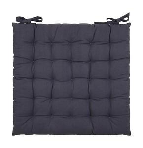 SITTDYNA - grå, Basics, textil (40/40/3cm) - Boxxx