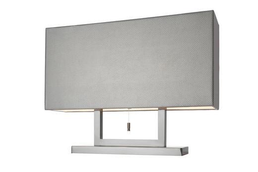TISCHLEUCHTE - Braun, Design, Leder/Metall (15/60cm) - Villeroy & Boch