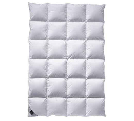 KASSETTENDECKE  135/200 cm   - Weiß, Basics, Textil (135/200cm) - Billerbeck