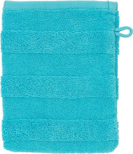 WASCHHANDSCHUH  Blau - Blau, Basics, Textil (16/22cm) - Linea Natura