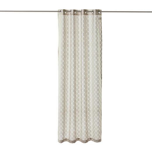 ÖSENSCHAL  halbtransparent  140/250 cm - Beige, Design, Textil (140/250cm) - Joop!