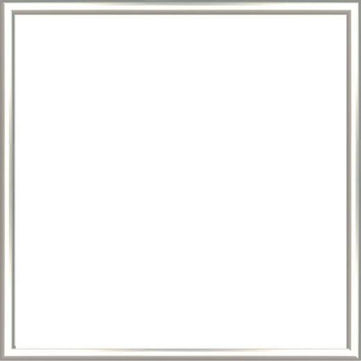 BILDERRAHMEN in Silberfarben - Silberfarben, Basics, Kunststoff (31/31/2cm)