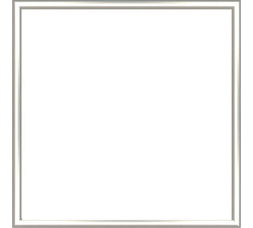 BILDERRAHMEN in Silberfarben - Silberfarben, Basics, Kunststoff (41/41/2cm)